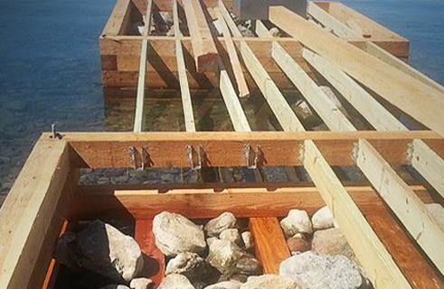 Crib Dock Repair