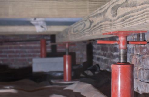 Foundation Structural Leveling & Jacking